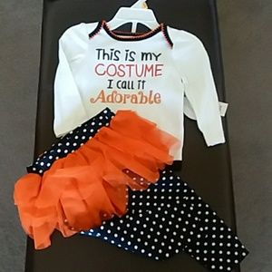 THIS IS MY COSTUME Adorable Halloween Outfit Tutu